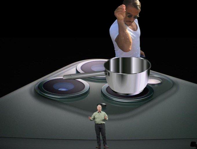 蘋果發布會成網友吐槽大會:浴霸與原諒綠齊飛