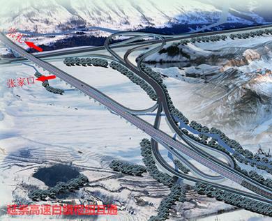 延崇高速跨张承高速钢桥吊装开始施工 预计8月底完工