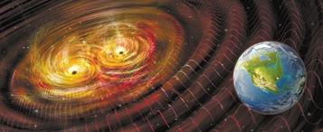 引力子是什么? 科学家把难题交给了黑洞合并