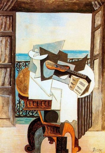 西班牙画家毕加索的绘画语言
