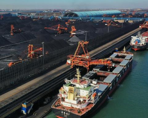 河北曹妃甸港区今年1至9月煤炭吞吐量同比增长4.3%