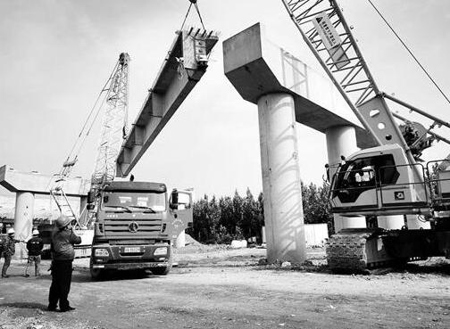 河北石家庄:中华大街北延工程将于11月底完工