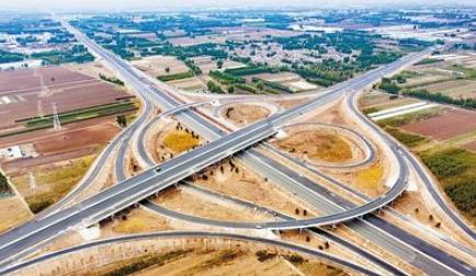 京德高速建设快速推进 5月底全线具备通车条件