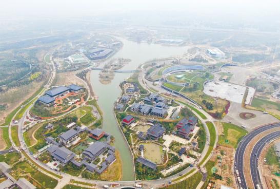 雄安郊野公园将于近日建成 总面积约2.68万亩