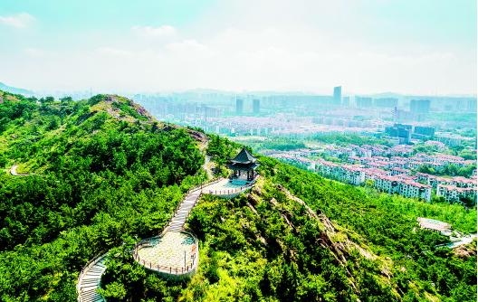 李沧区多数山头公园已完成整治 让公园美丽又便民